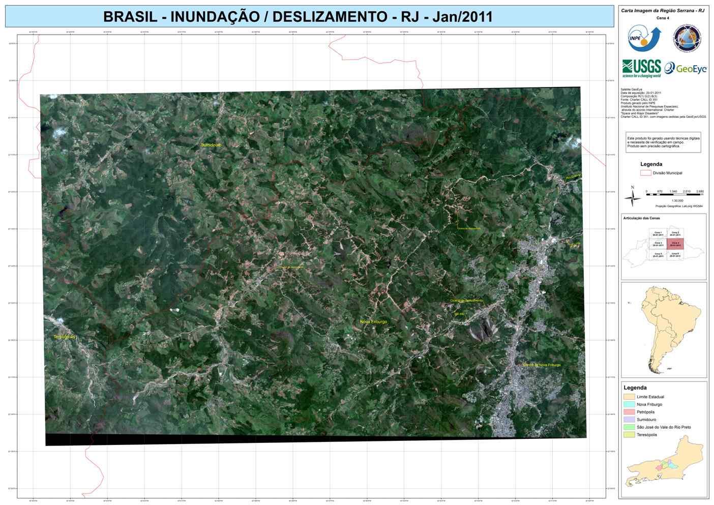 Inundação Região Serrana-RJ